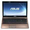 Ноутбук Asus K53E B970 2Gb 500Gb Intel HD Graphics 15.6 DVD(DL) BT Cam 5200мАч Win7HB Темно-коричневый